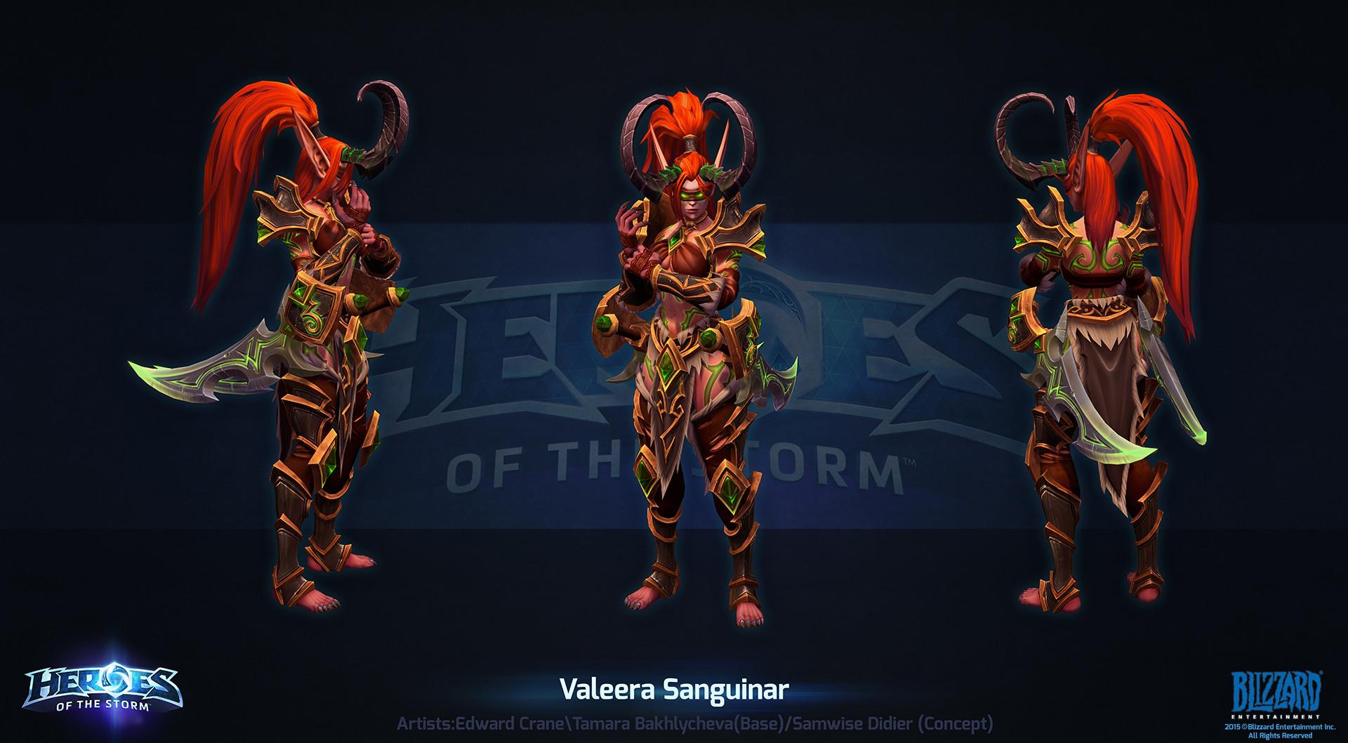 Valeera Build Hots