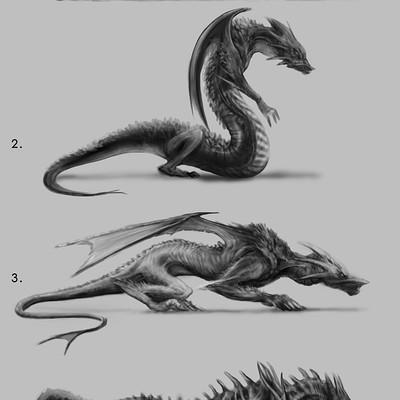 Christopher goodman class tattoo dragon design comp