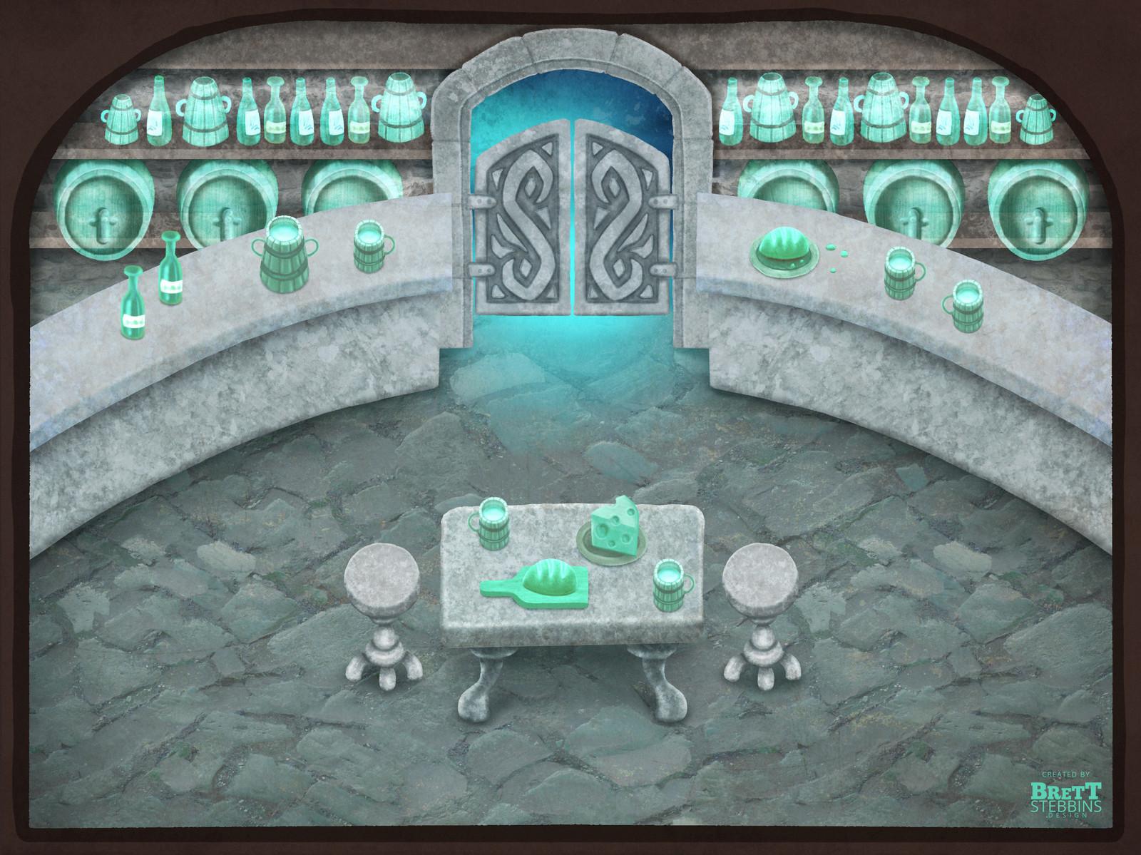 Luminare Saga - Lost Souls Pub Concept Art