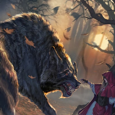 Diego gisbert llorens little red riding hood wolf lvl2 4