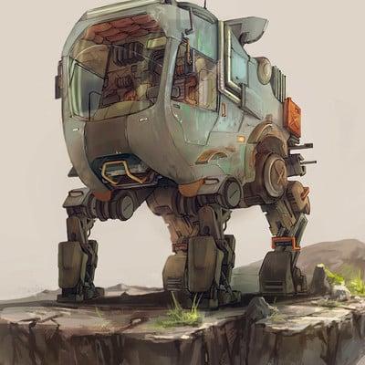 Edison moody cargo vehicle 1
