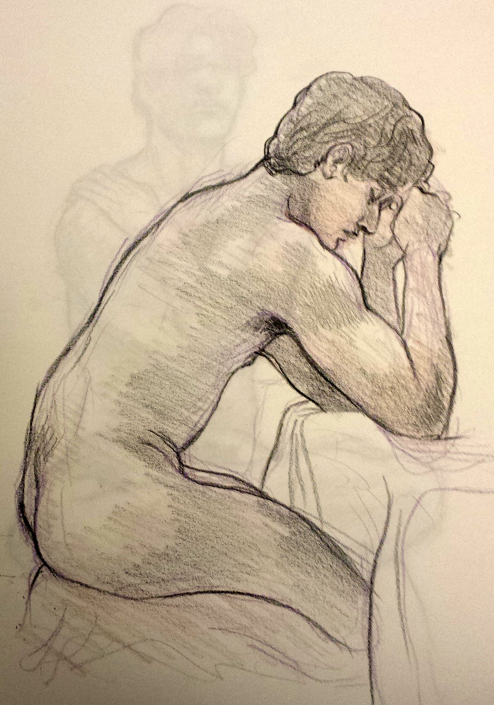 Rachel Britton Assorted Life Drawings