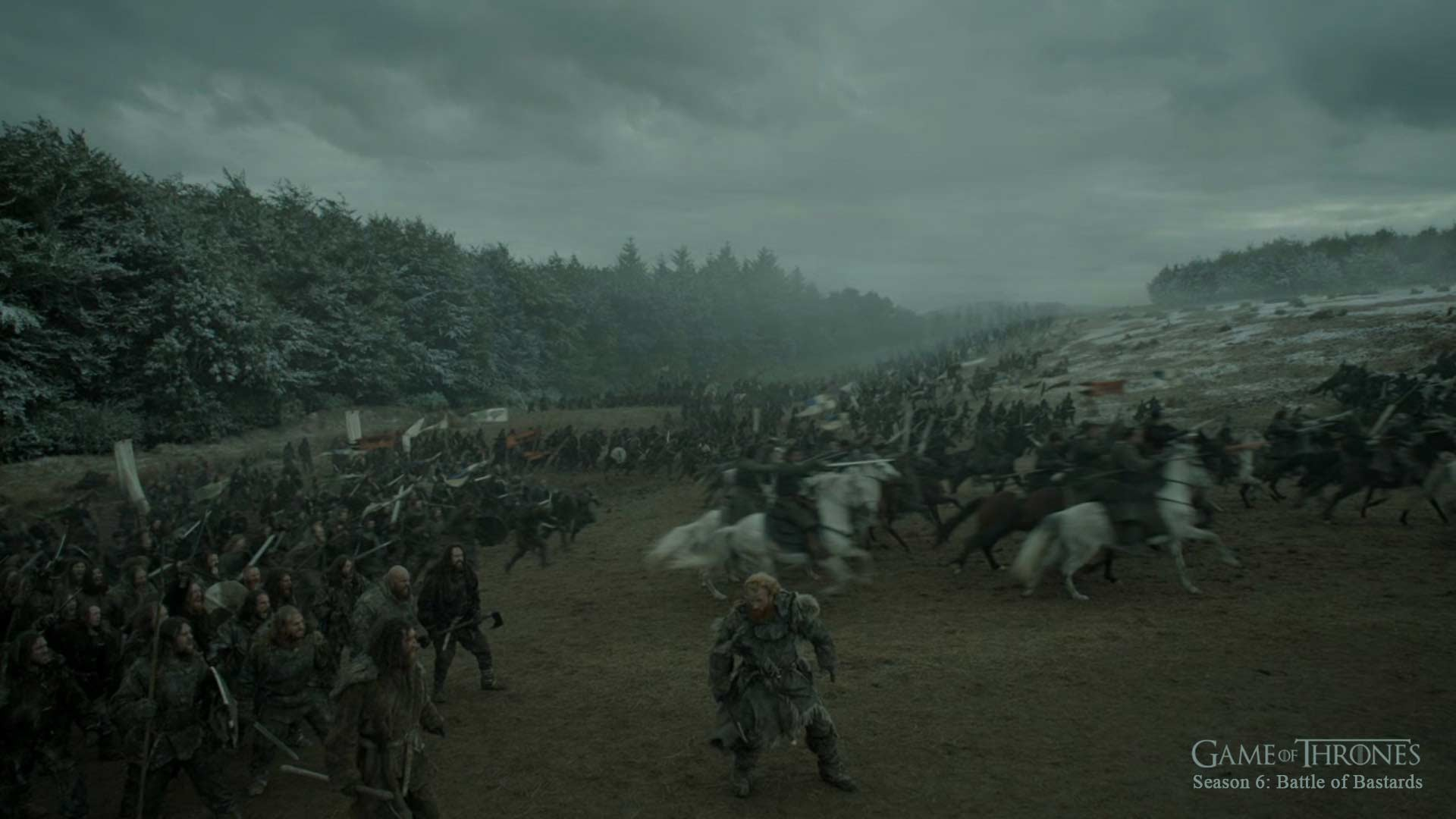 Artstation Game Of Thrones Battle Of Bastards Alan Lam