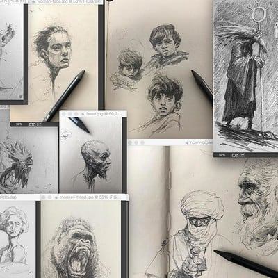 Tomek larek sketches