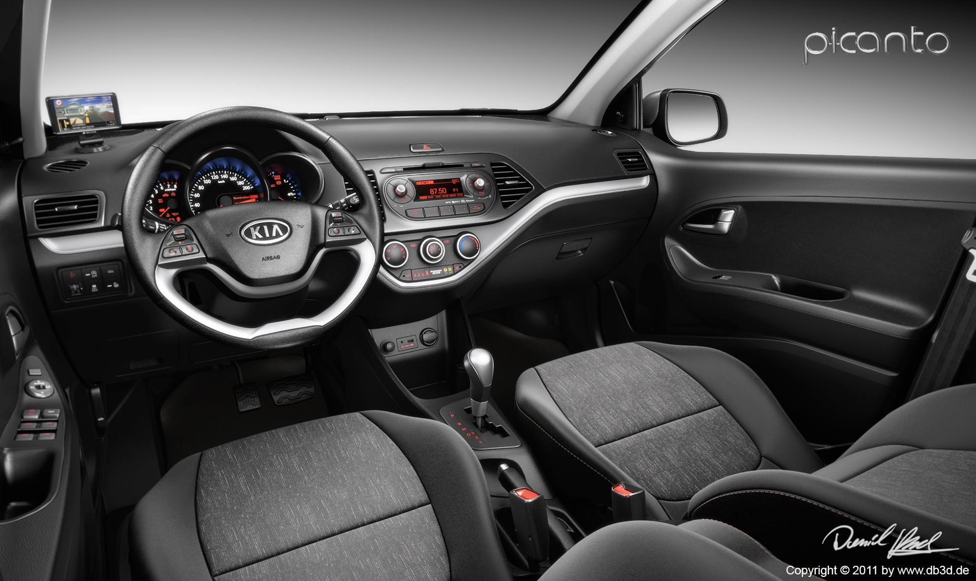 Daniel Brok - KIA Picanto Car Interior