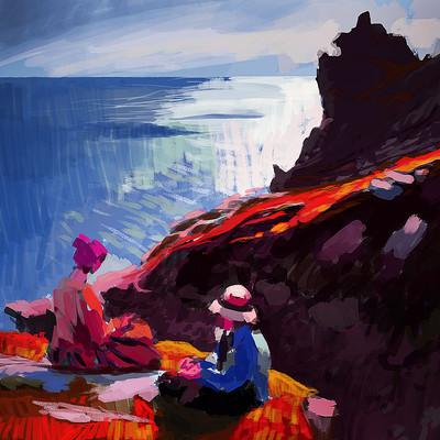 Samuel silverman dame laura knight study final diff colour
