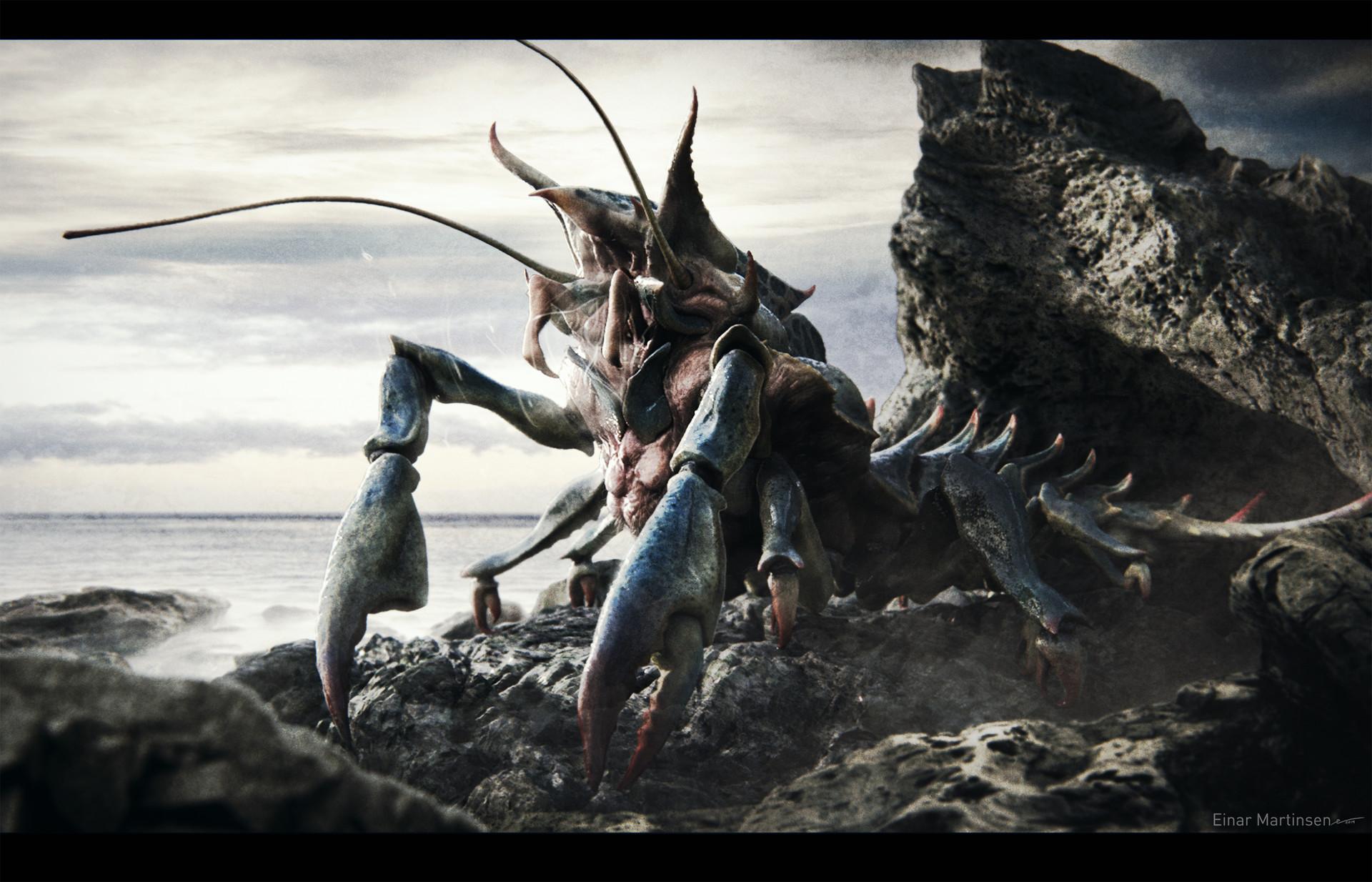 Einar martinsen alien crab einar martinsen 01