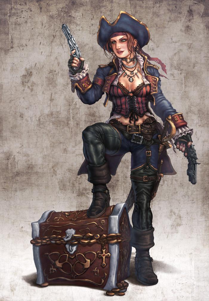 Victoria - Pirate Captain