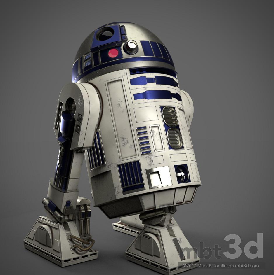 Mark b tomlinson r2 d2 astromech droid 69
