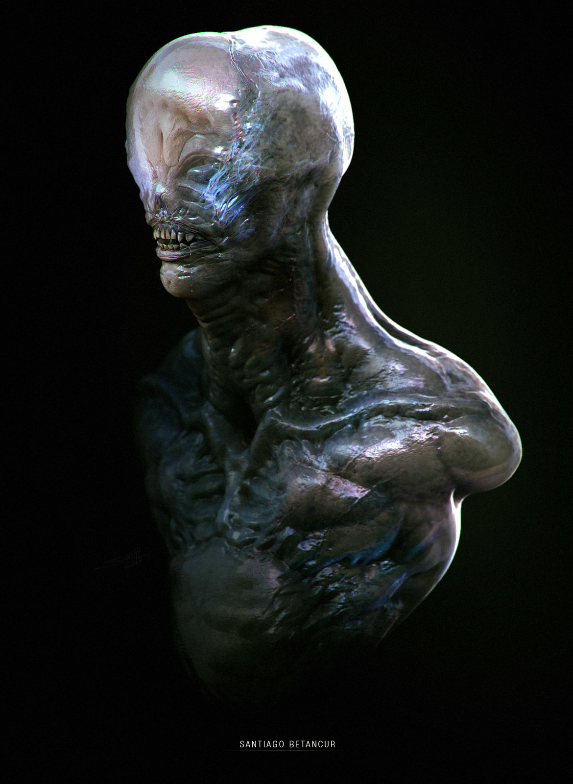 Creature Bust - 01