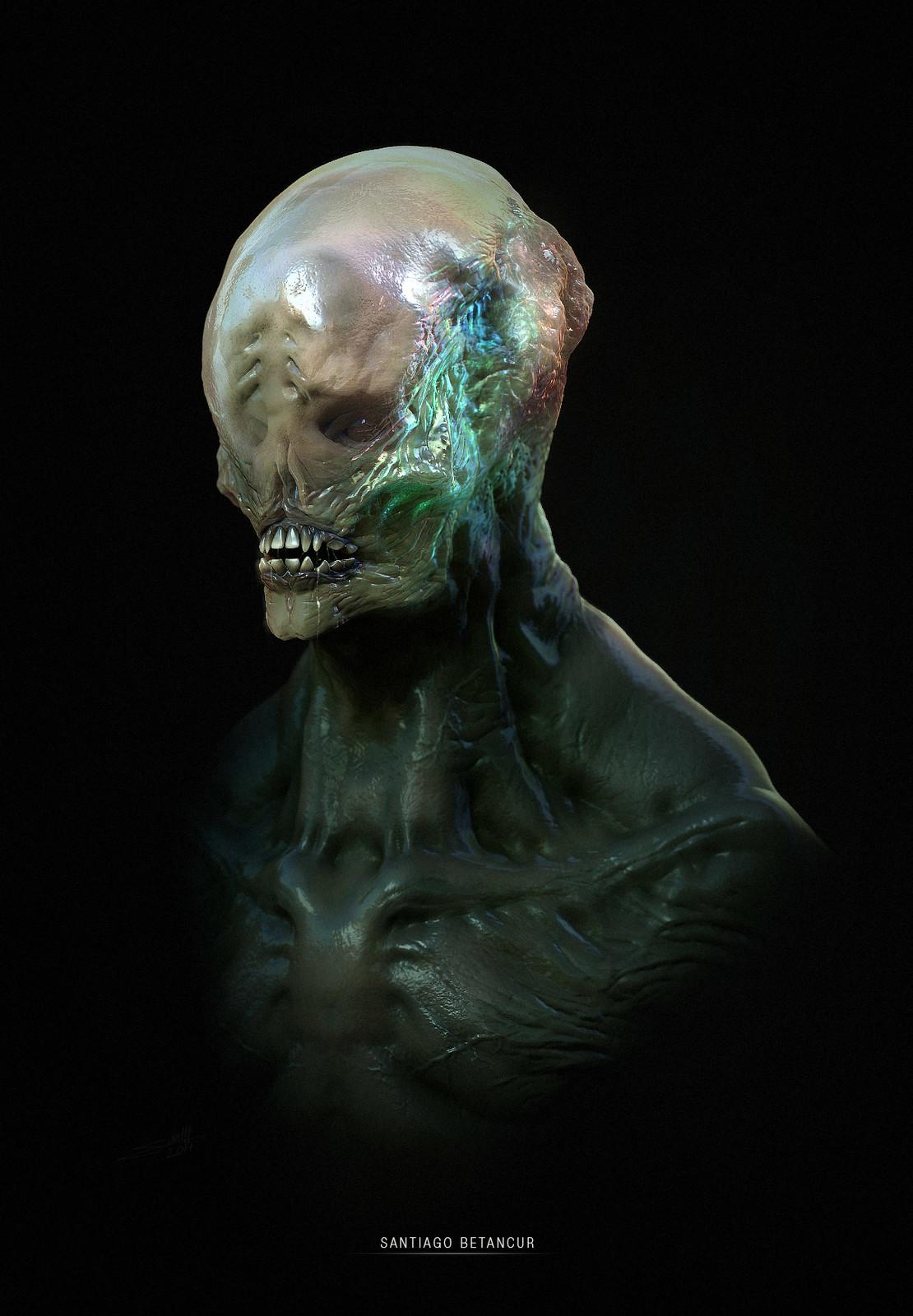 Creature Bust - 02