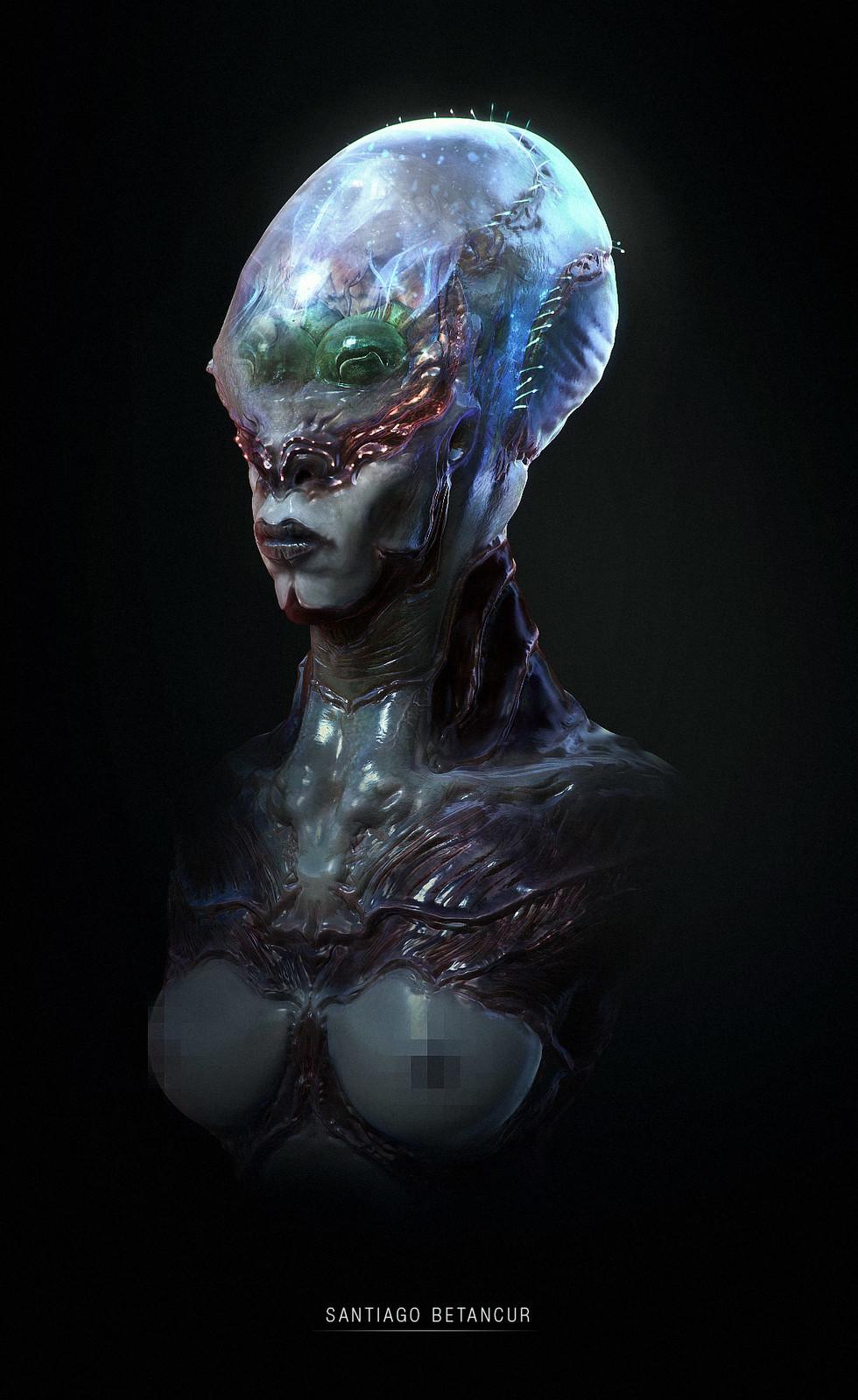 Creature Bust - 03
