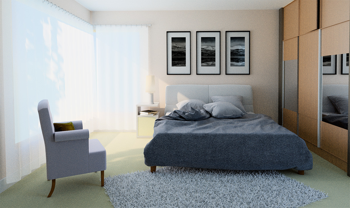 Barry mccarthy bedroom 3d