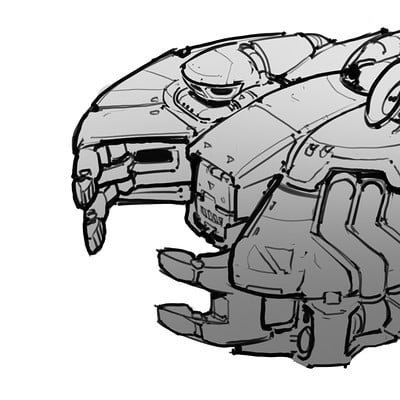 Samuel aaron whitehex ship blockout sketches