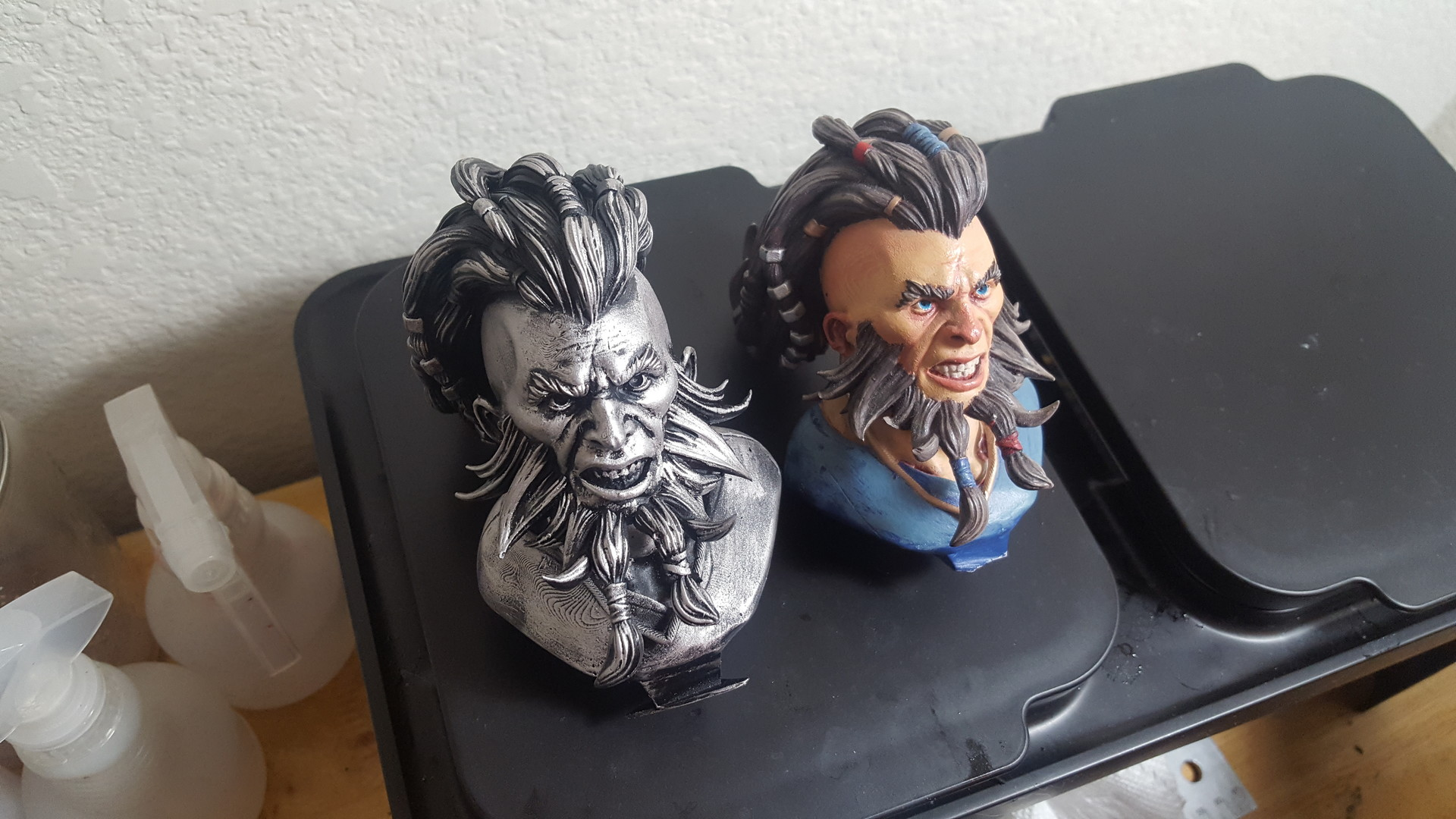 Painted test 3d prints