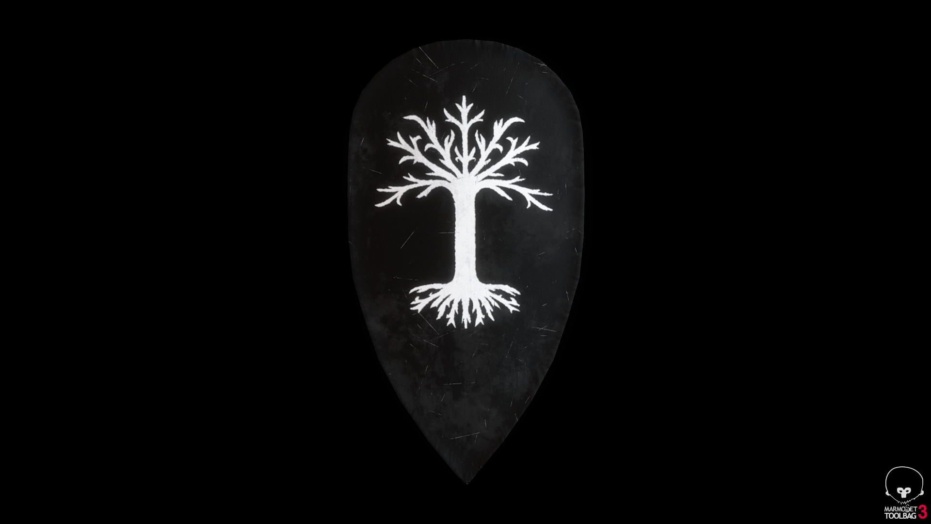 Bela csampai s4h gondorian shield 01 preview mt 02