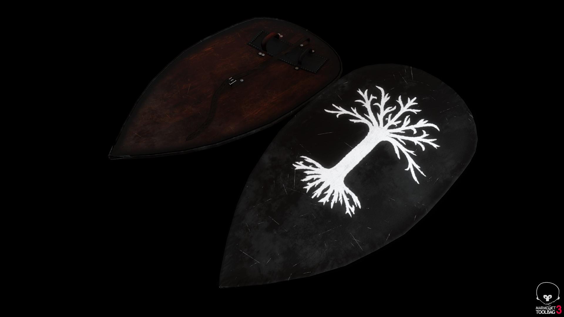Bela csampai s4h gondorian shield 01 preview mt 01