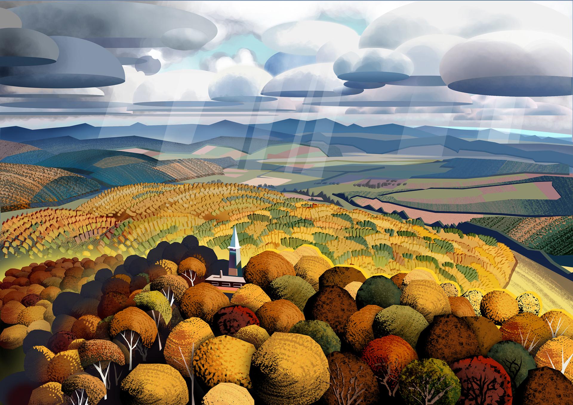 Harald ardeias autumn hills
