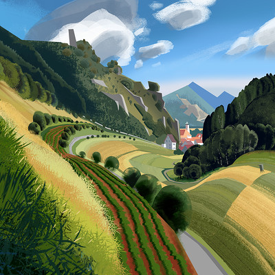 Harald ardeias home landscape 1