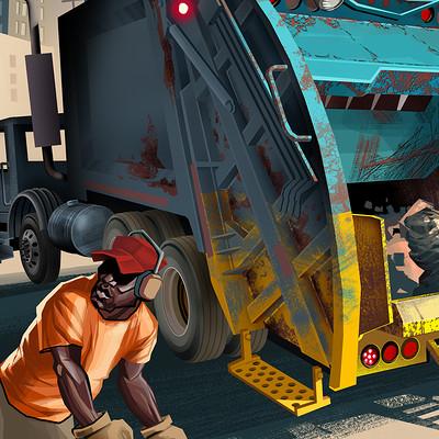 Harald ardeias dump truck