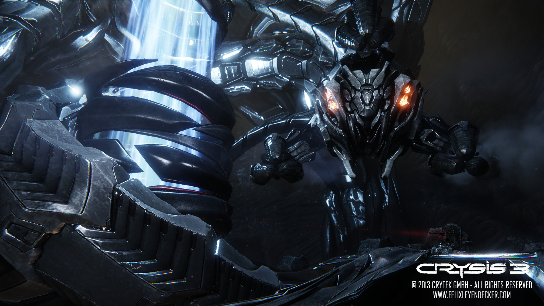 ArtStation - Crysis 3 - Alpha Ceph, Felix Leyendecker