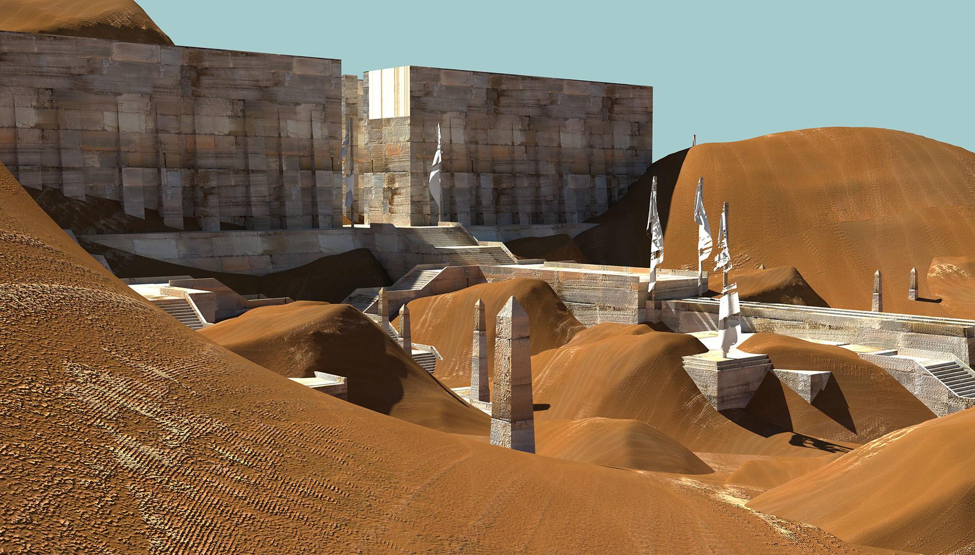 Jason cumbers sand temple 3dblock