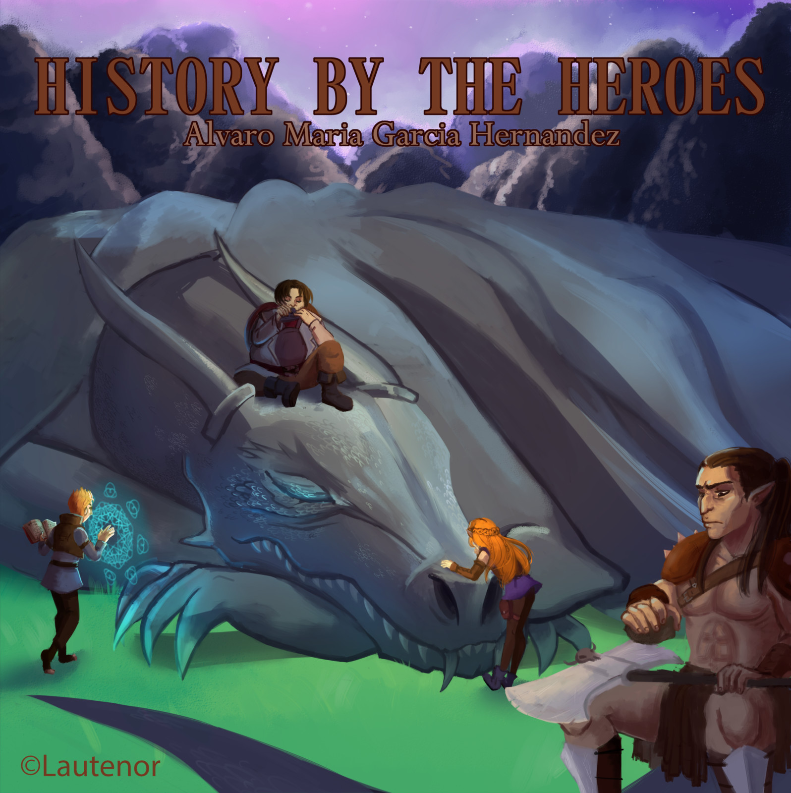 History by the Heroes, album cover for Lautenor https://archive.org/details/History_by_the_heroes/All_enemies_All_friends.mp3