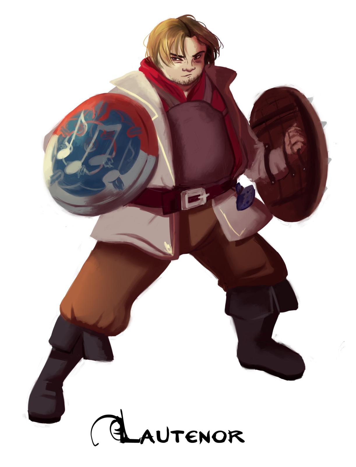 Character design: Lautenor