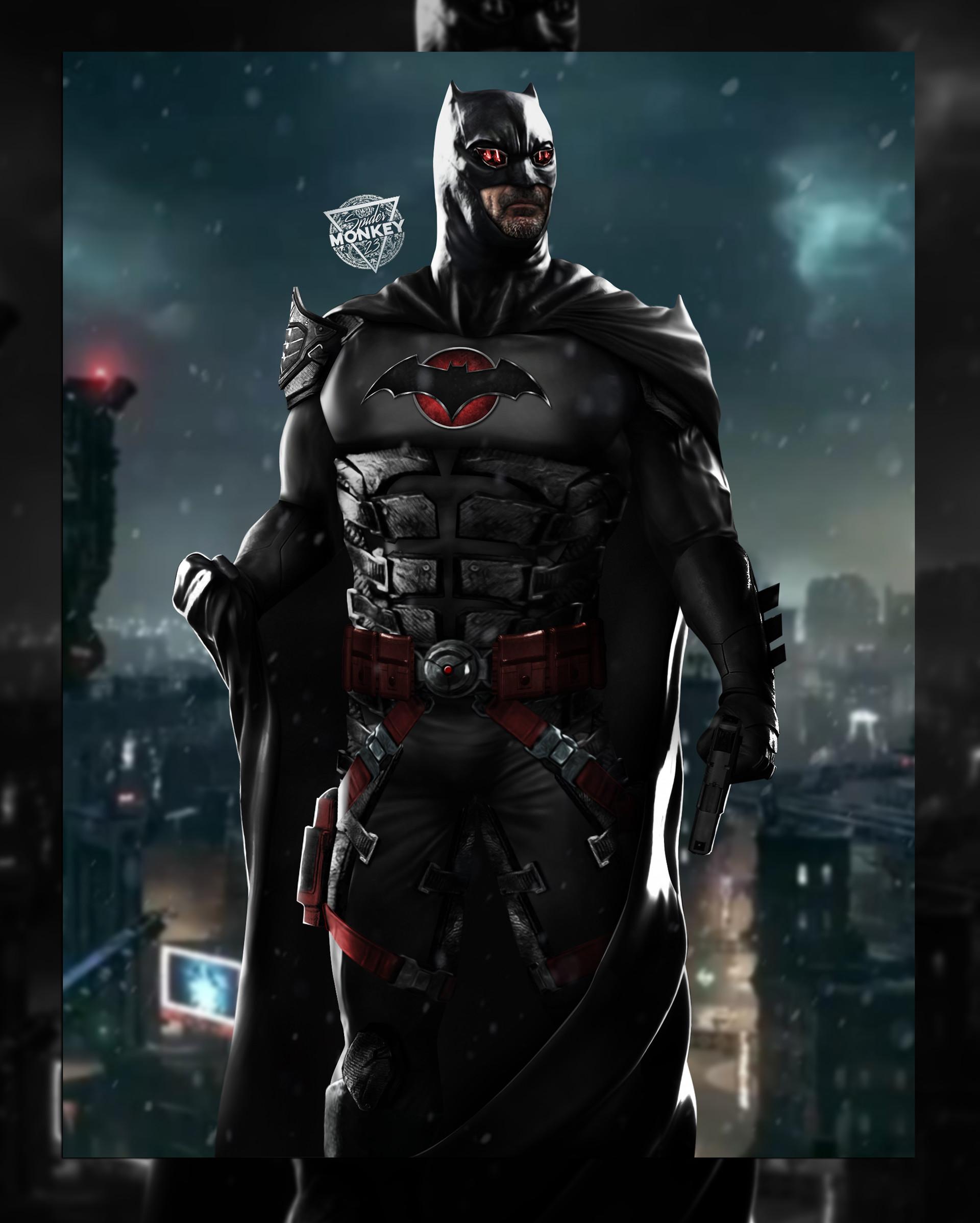 ArtStation - Flashpoint Batman, SPDRMNKY XXIII