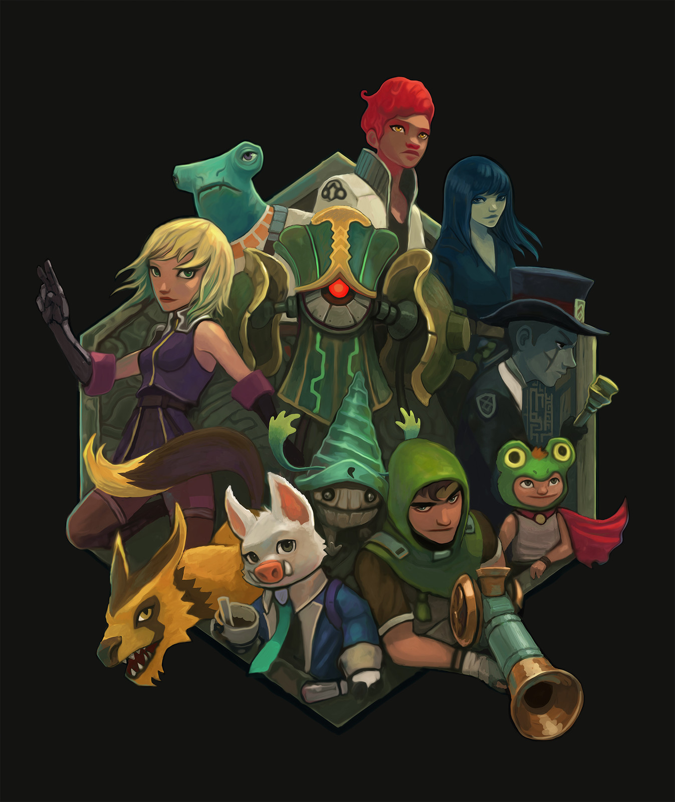 Art of Earthlock cover WIP