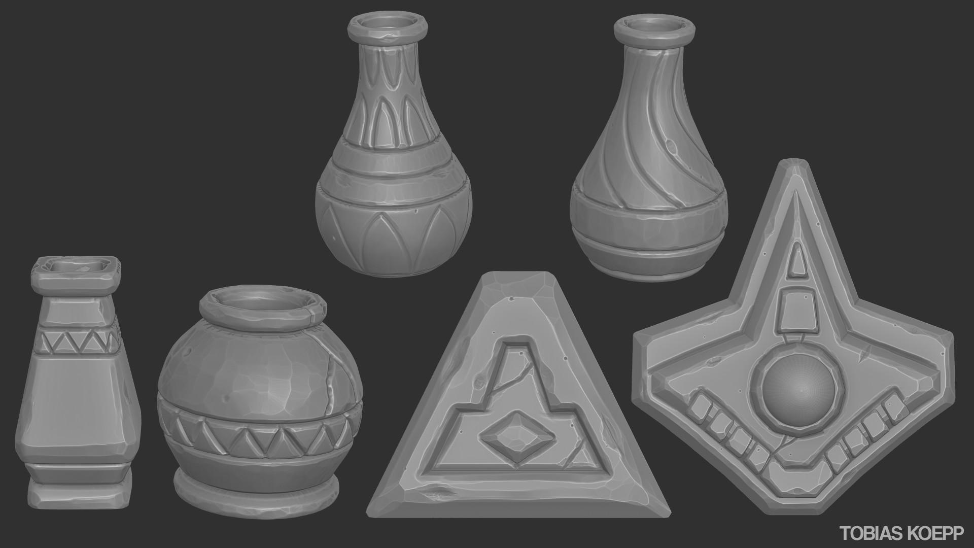 Tobias koepp vases