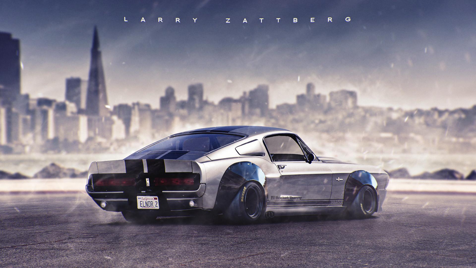 Larry Zattberg Mustang Gt500 Rocket Bunny