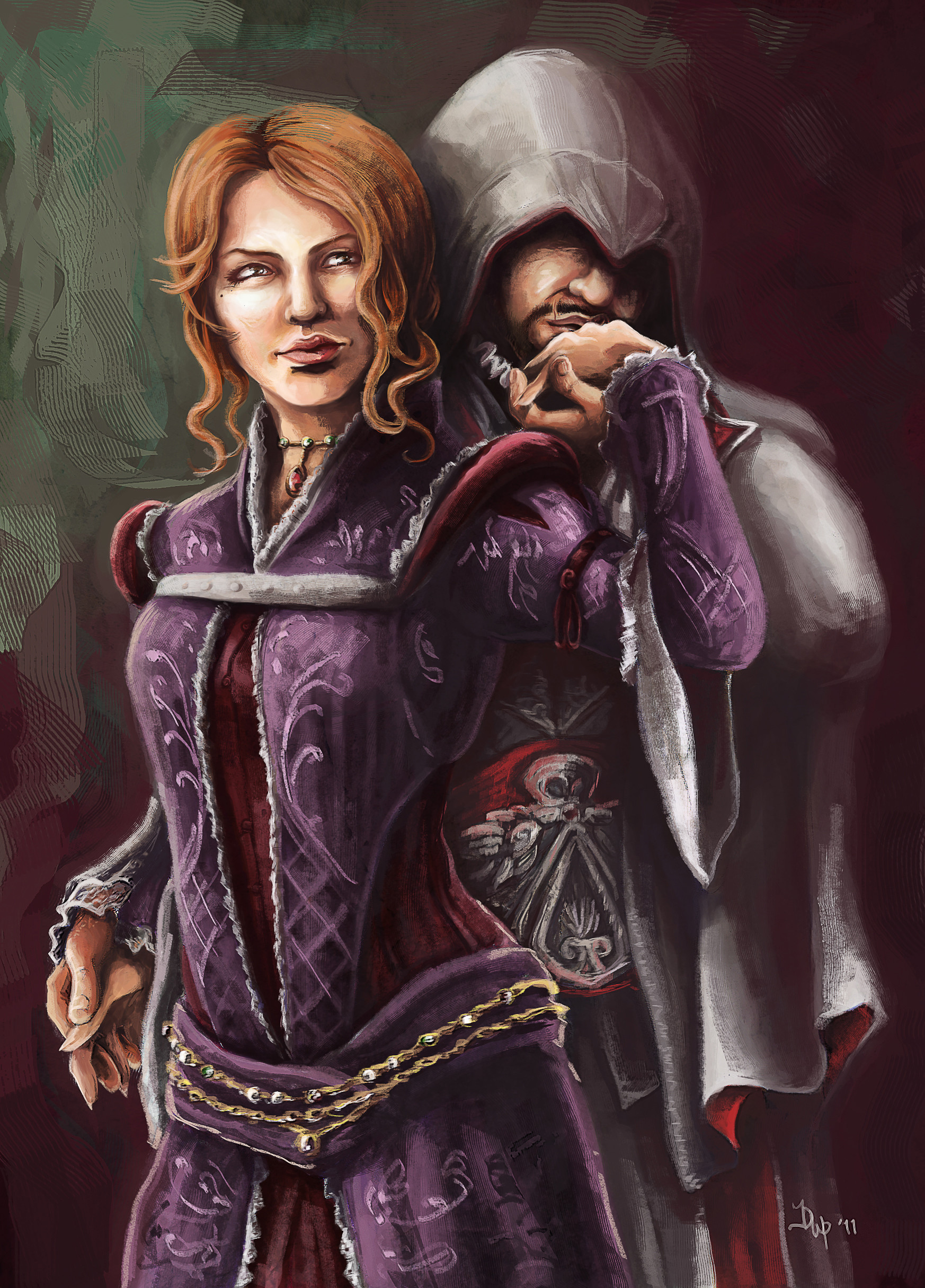 Jeanne Price Video Game Fan Art