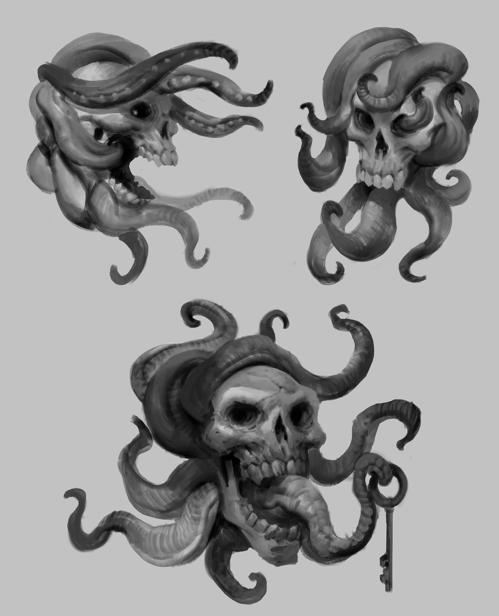 Miroslav petrov tentacles skull