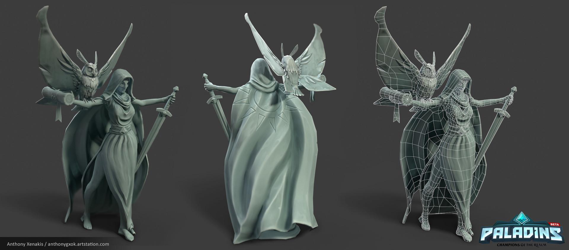 Anthony xenakis statuec renders lp3