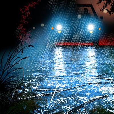 Harald ardeias rain