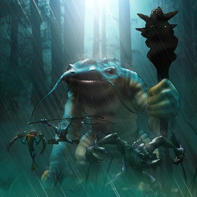 Midhat kapetanovic murloc species 01