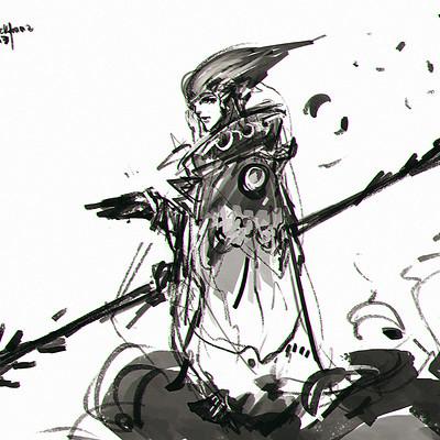 Benedick bana sketch 01 mage lores