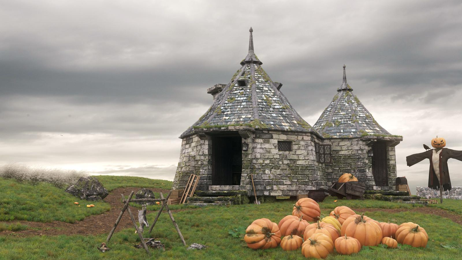 Hagrids Hut Day