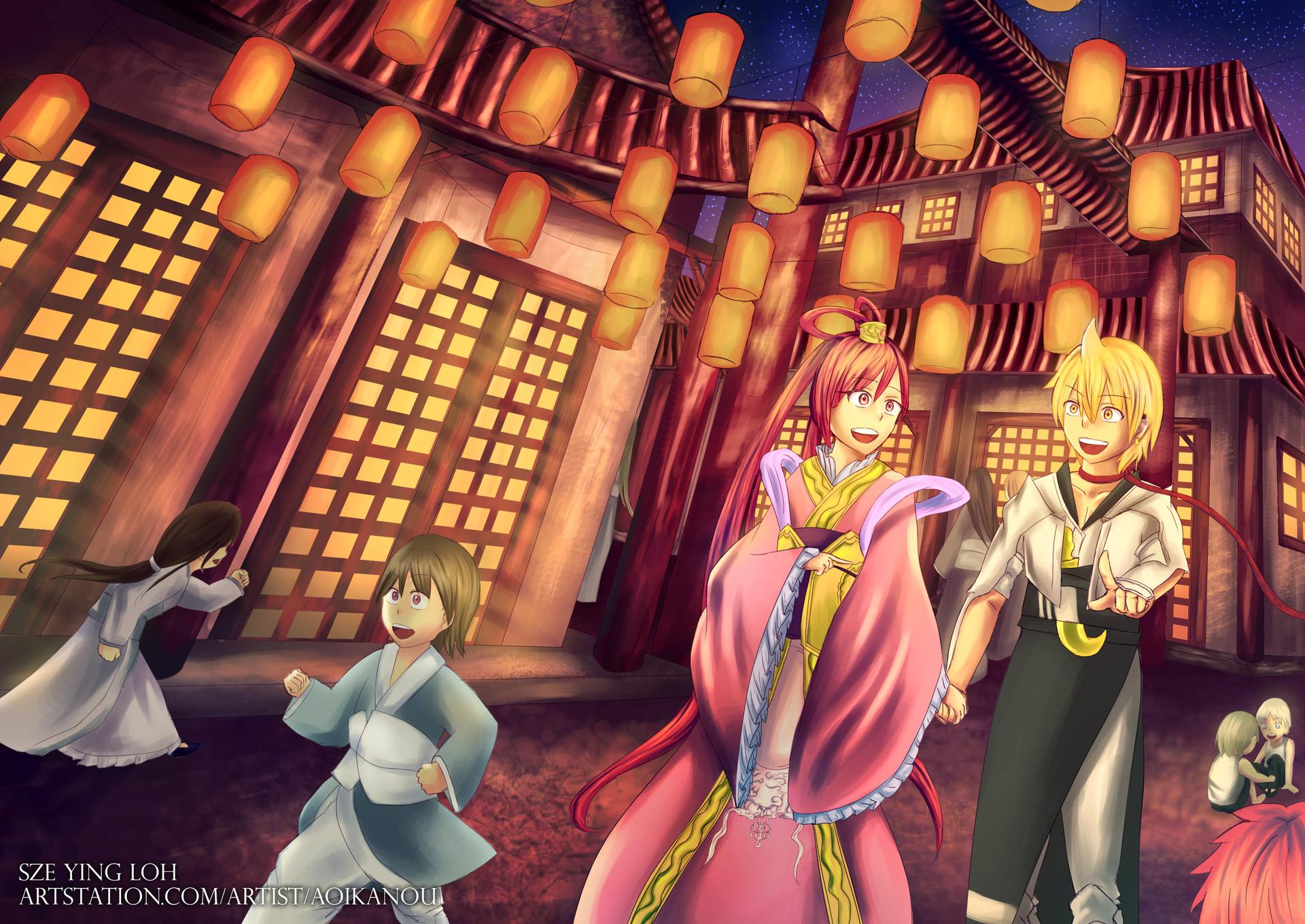 ArtStation - Illustrations, Sze Ying Loh