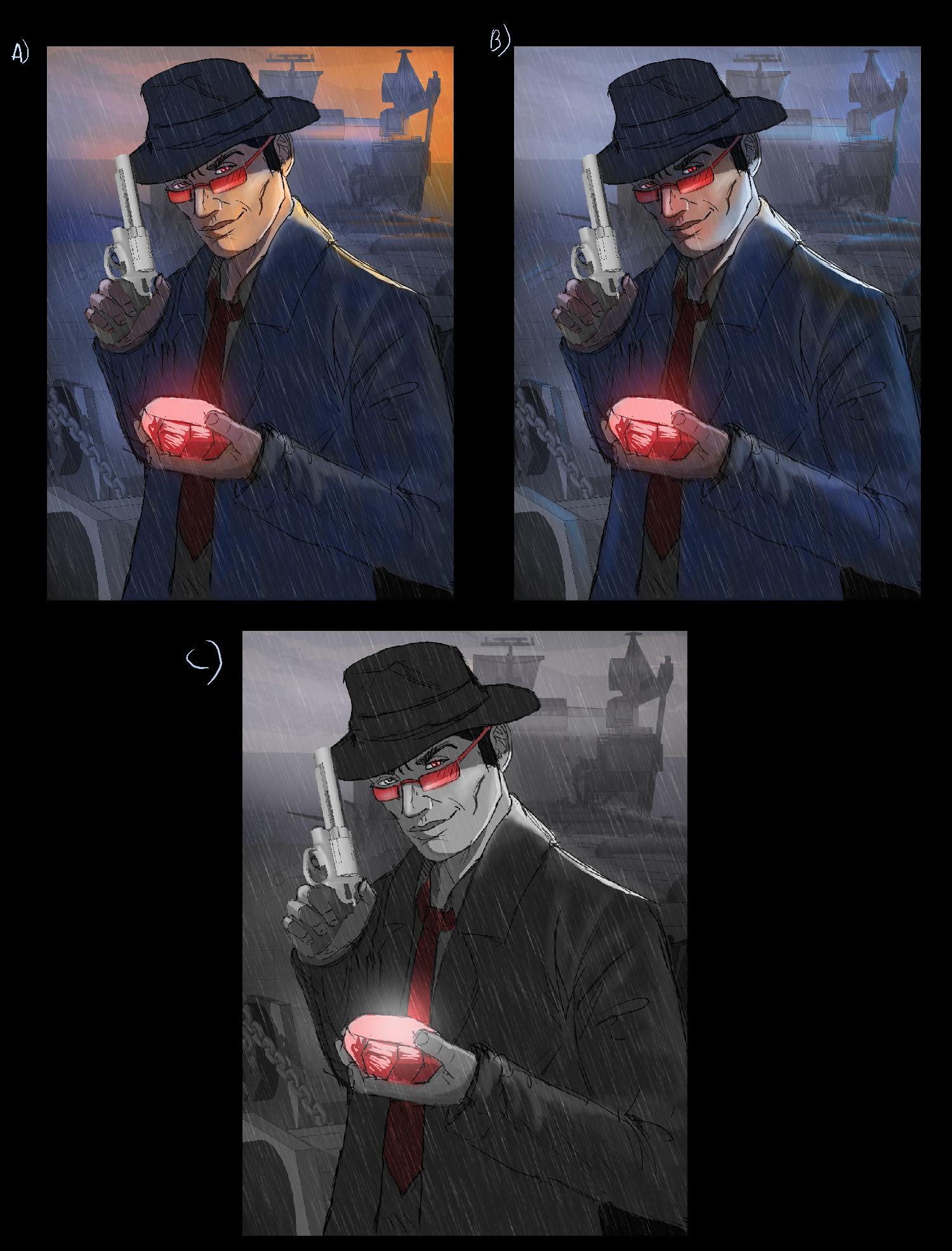 Danny kundzinsh cyclops color comps
