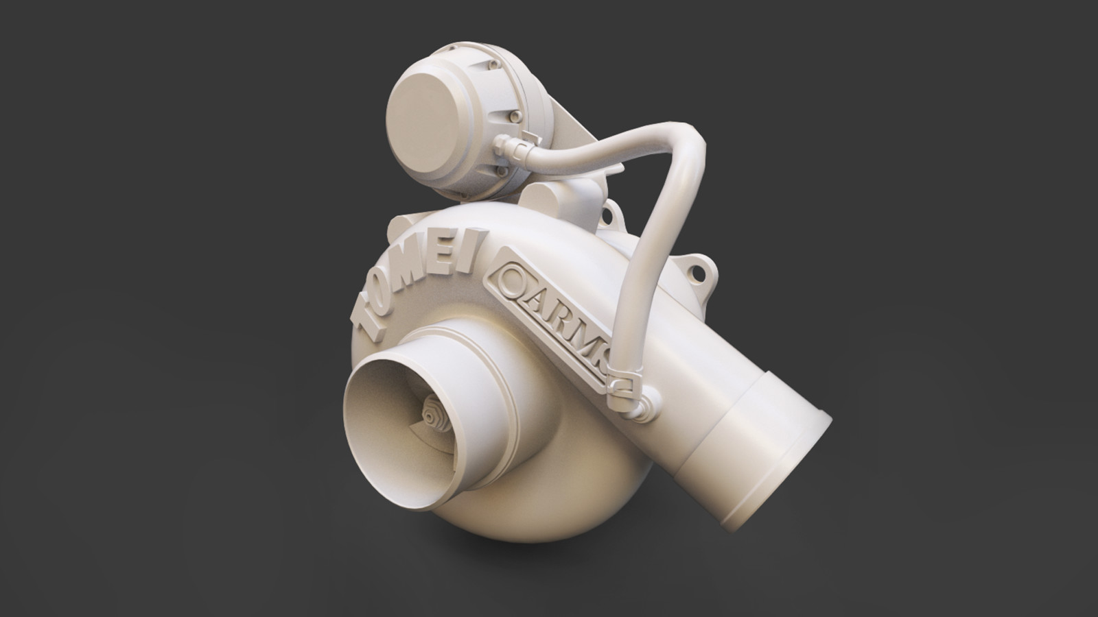 High poly clay_front