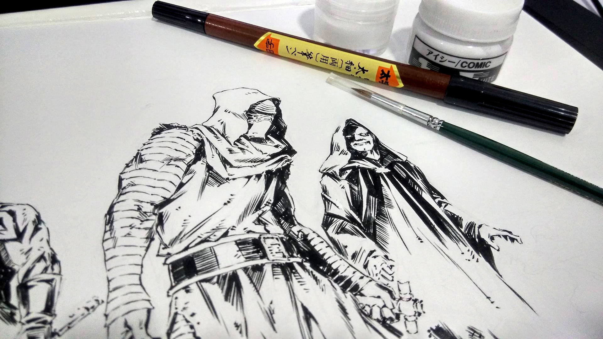 Before copic!