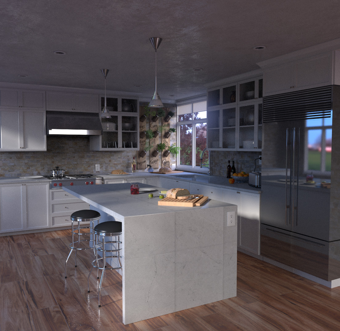 Kitchen Photorealism