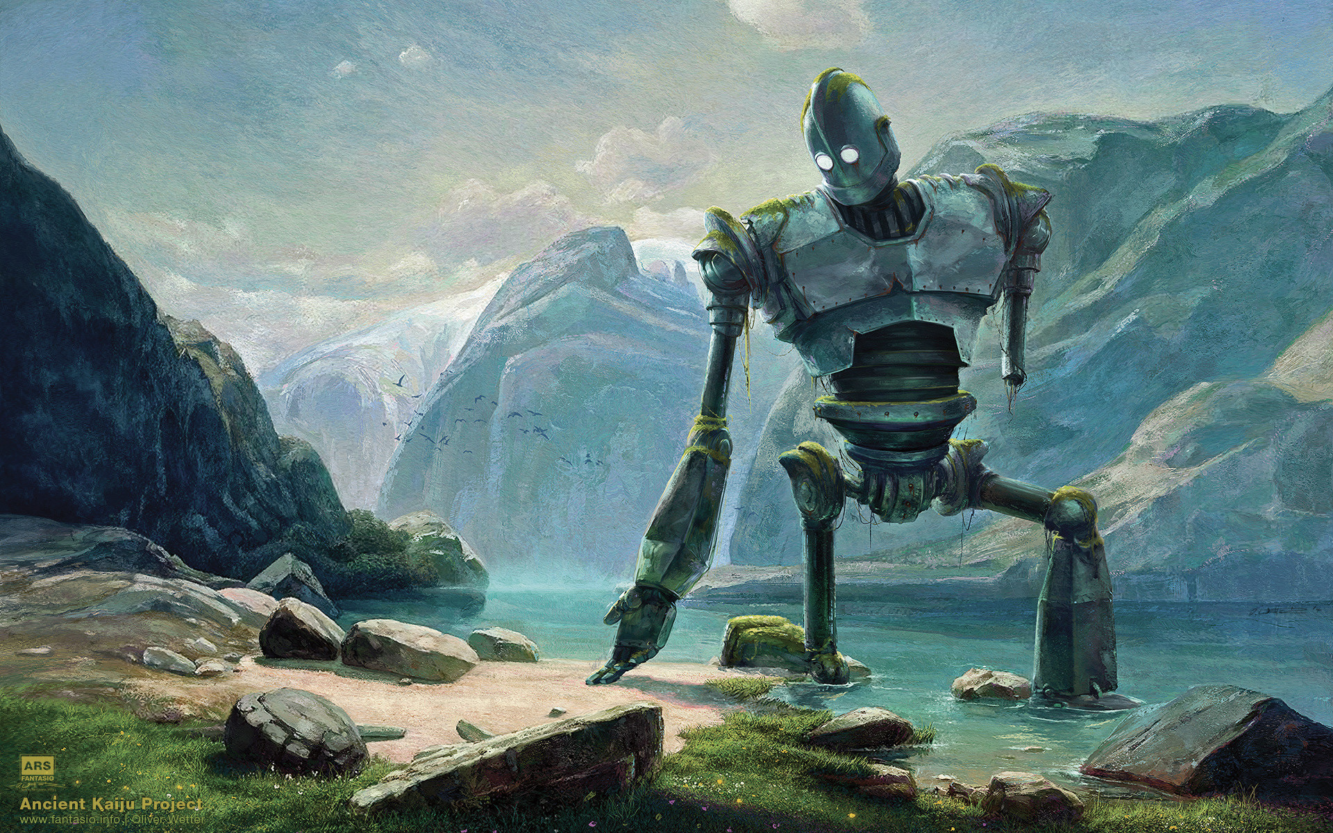 Oliver wetter new logo abandoned iron giant at lake in swiss mountains by fantasio d7w3oeg kopie