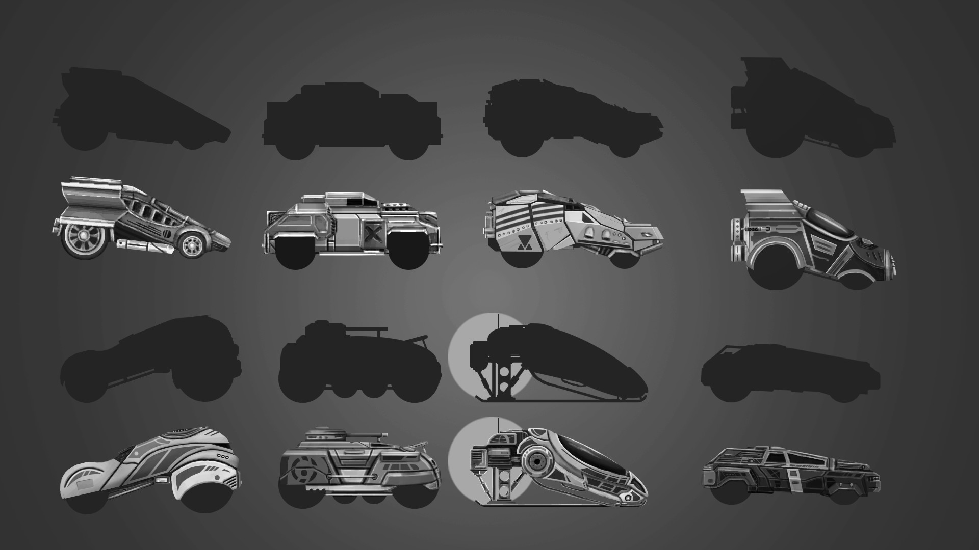 Roman Rebatov - Concept of 2d cars