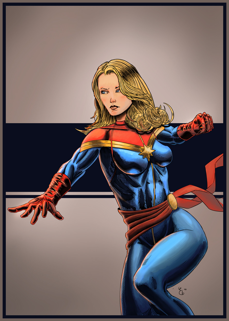 Elie bongrand 81 captain marvel colors