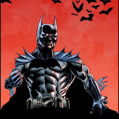 Elie bongrand 83 batman colors