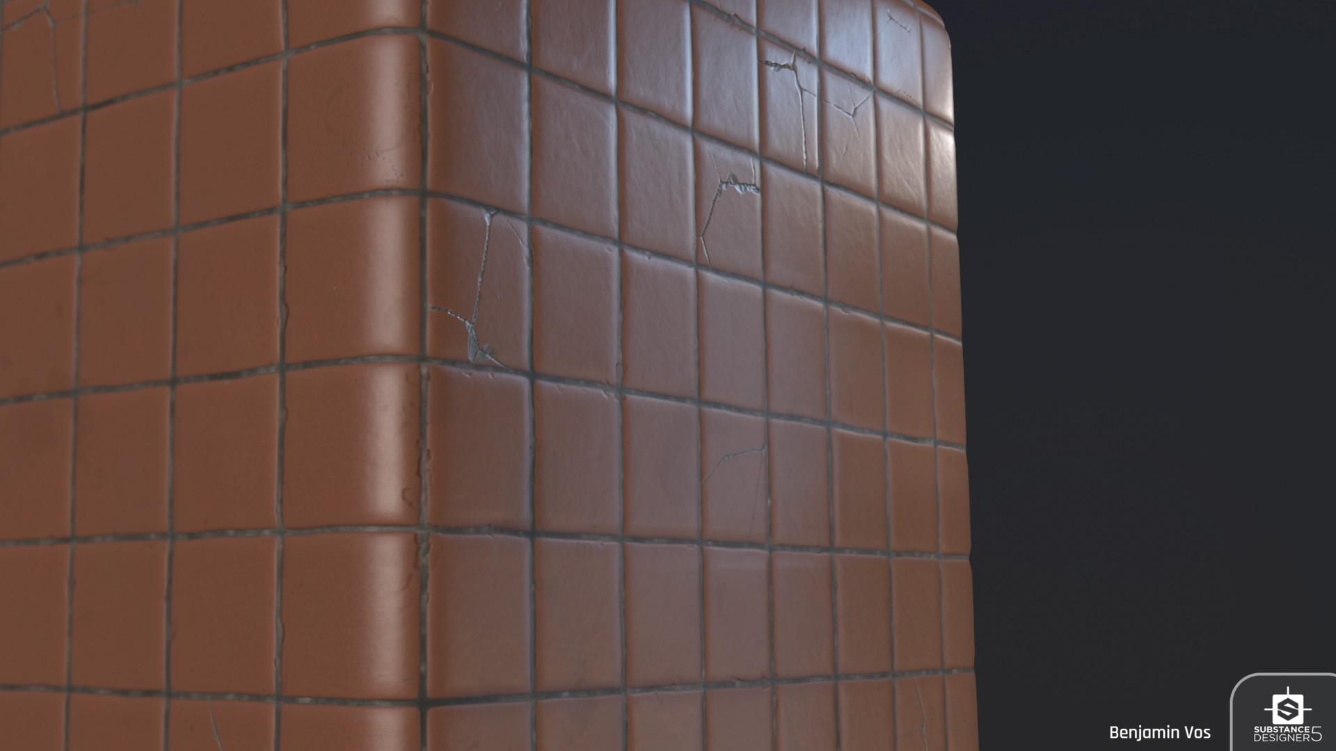 ArtStation - Ceramic Tiles, Benjamin Vos