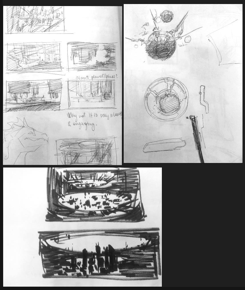 Sergey grechanyuk sketches